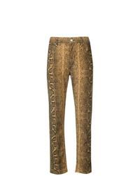 Isabel Marant Etoile Isabel Marant Toile Snakeskin Print Trousers