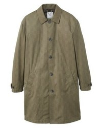 Mango Drake Trenchcoat Brown