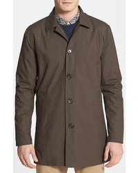 Topman Single Breasted Trench Coat Large
