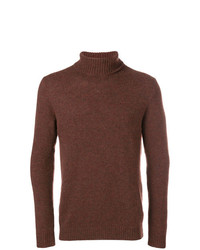 Circolo 1901 Roll Neck Fitted Sweater