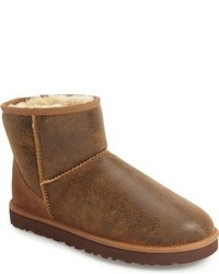 UGG Classic Mini Bomber Boot With Genuine Shearling Or Pure Lining