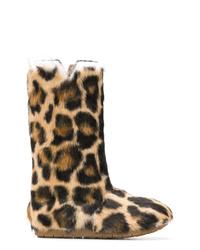 Laurence Dacade Leopard Print Boots