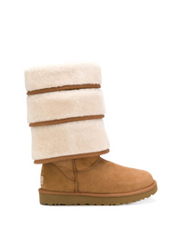 Y/Project Y Project Ugg Triple Layer Boots