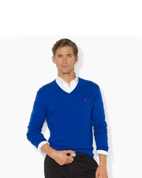 Polo Ralph Lauren Lightweight Wool V Neck