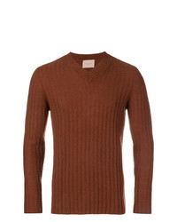Federico Curradi V Neck Jumper