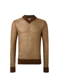Al Duca D'Aosta 1902 V Neck Sweater