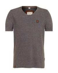 Basic t shirt mottled light brown medium 4988319