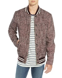 Brown Varsity Jacket