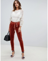Vila Velvet Tailored Trousers