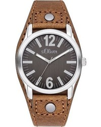 s.Oliver Watch Braun