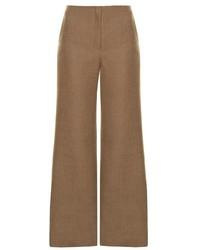 The Row Binona Wide Leg Wool Blend Trousers