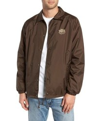 Brown Windbreaker