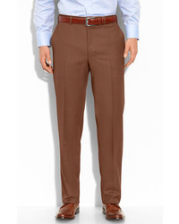 Flat front wool trousers medium 162079