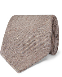 Thom Sweeney 8cm Mlange Wool And Silk Blend Tie