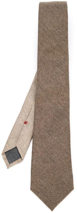 Brunello Cucinelli Pointed Tip Tie