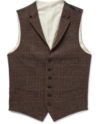 Polo Ralph Lauren Checked Wool Waistcoat