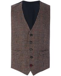 Lardini Tweed Fitted Waistcoat