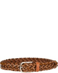 Les Copains Woven Leather Belt