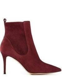 Burgundy ankle boots original 1625199