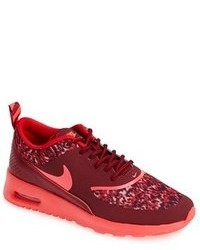 Burgundy Athletic Shoes