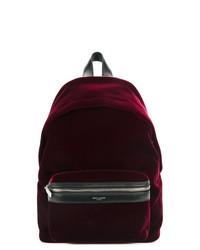 Saint Laurent Zipped Pocket Backpack