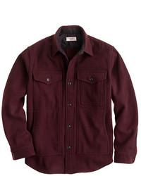 J.Crew Wallace Barnes Wool Overshirt