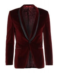 Hugo Boss Arondo Suit Jacket Red