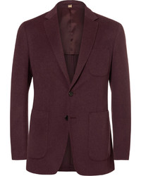 Burberry Slim Fit Cashmere Blazer