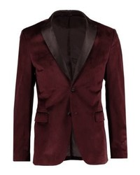 Pier One Suit Jacket Bordeaux