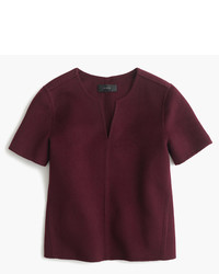 J.Crew Collection Double Faced Cashmere Top