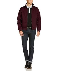 Of London Harrington Jacket Red X Small