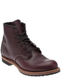 Burgundy boots original 495414