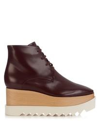 Stella McCartney Elyse Lace Up Platform Boots