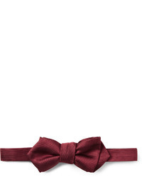 Woven silk bow tie medium 31131