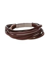 Fossil Vintage Casual Bracelet Braun