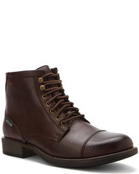 Burgundy Casual Boots
