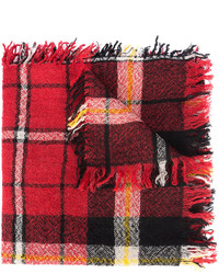 Isabel Marant Chunky Checkered Scarf