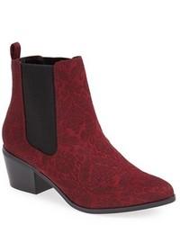 Burgundy chelsea boots original 1647231