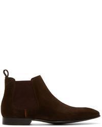 Burgundy chelsea boots original 1950171