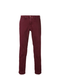 Jacob Cohen Handkerchief Slim Fit Chinos
