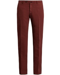 Incotex Slim Leg Stretch Cotton Chino Trousers