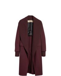 Burberry Cashmere Detachable Collar Coat
