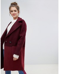 Only Colour Block Oversized Coat