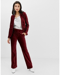 In Wear Talia Corduroy Flared Trousers