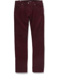 Richard James Slim Fit Corduroy Trousers
