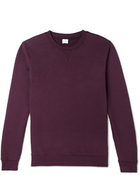 Sunspel Loopback Cotton Sweatshirt