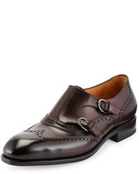 Burgundy double monks original 516222