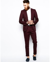 Asos Slim Fit Suit Trousers In Poplin | Where to buy & how to wear