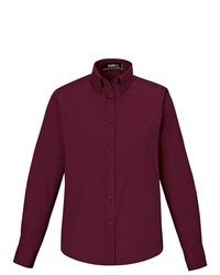 Burgundy Dress Shirt