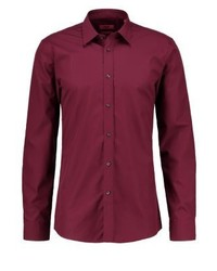 Elisha slim fit formal shirt bordeaux medium 4209934
